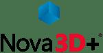 Nova3D+ Logo Sans Shadow