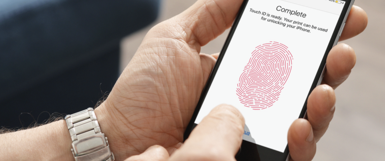 AlertView Fingerprint ID Image