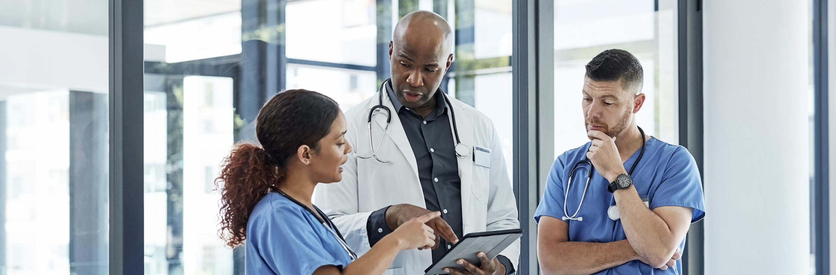 Engaged Medical Staff Image